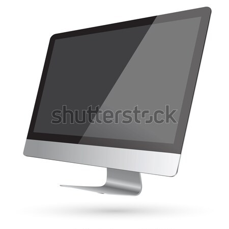 Modern digital computer Stock photo © sdecoret