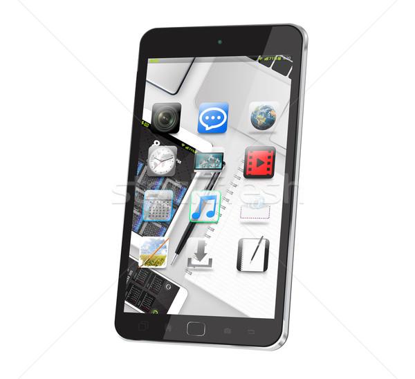 Modern digital smart phone Stock photo © sdecoret