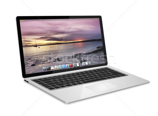 современных цифровой Tech белый бизнеса Сток-фото © sdecoret