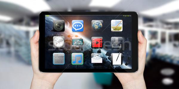 Modern digital tablet Stock photo © sdecoret
