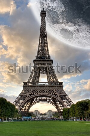 Paris Eiffel Tower Stock photo © sdecoret