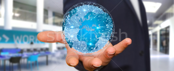 Affaires différent monde numérique Photo stock © sdecoret
