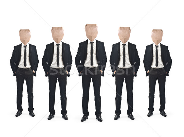 Businessman teamwork concept Stock photo © sdecoret