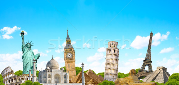 Famous monument of the world Stock photo © sdecoret