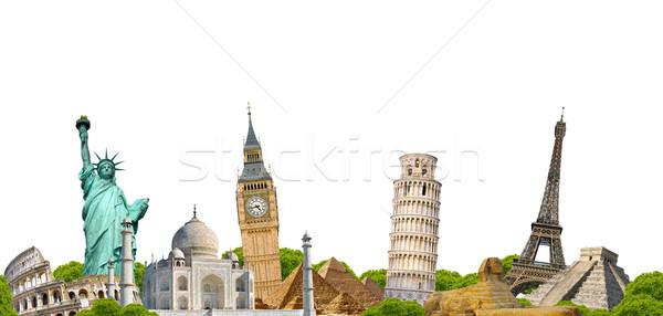 Famous monument of the world Stock photo © sdecoret