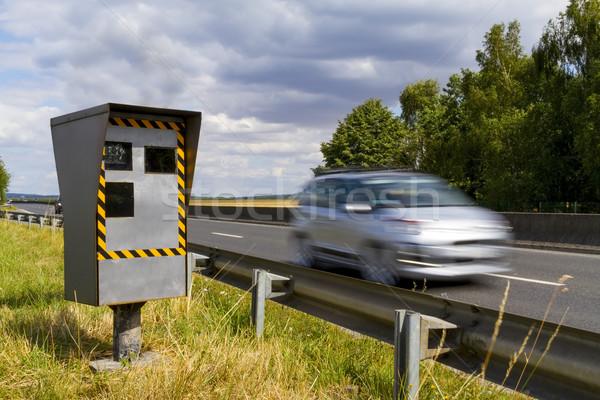 автоматический скорости камеры радар автомобилей Сток-фото © sdecoret