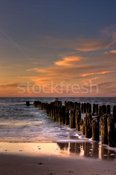красивой пляж мнение лет Сток-фото © sdecoret