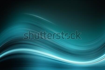 Abstrato colorido ilustração futurista curvas formas Foto stock © sdecoret