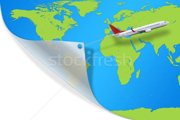 Plane Stock photo © sdecoret