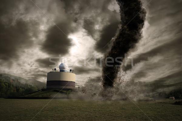 Large Tornado disaster Stock photo © sdecoret