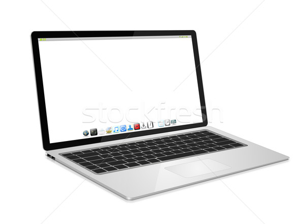 Modern digital tech device Stock photo © sdecoret