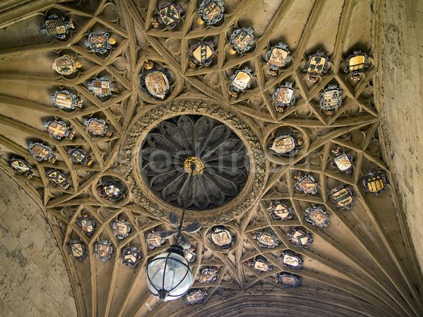 Tavan Mesih kilise kolej ana giriş Stok fotoğraf © searagen