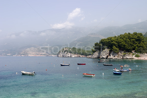 Boats in Montenegro Stock photo © searagen