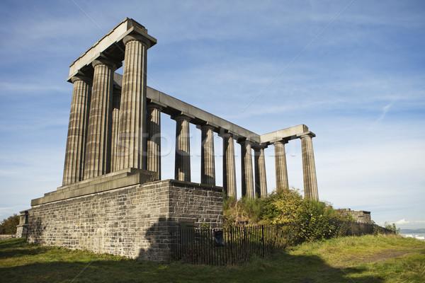 Escocia Edimburgo guerra copiar Partenón Atenas Foto stock © searagen
