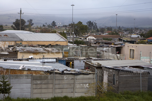 South African Township Stock photo © searagen