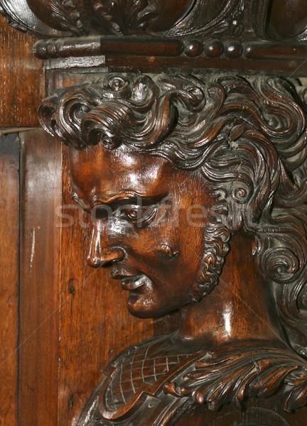 Irish Wood Carving Stock photo © searagen