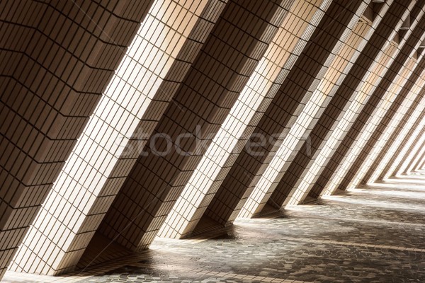 Diagonal Architectural Abstract Stock photo © searagen