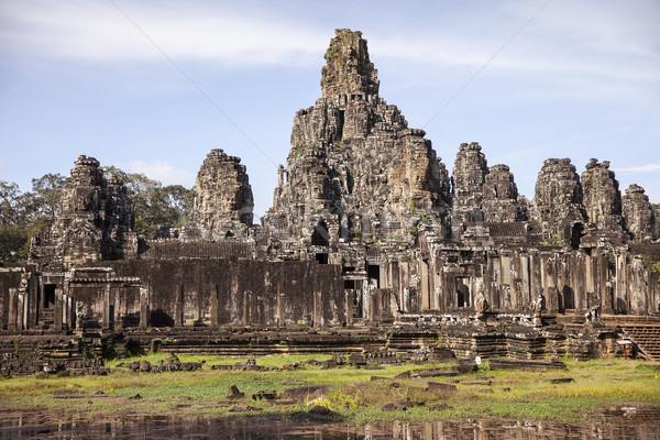 Tempel angkor een meer significant historisch Stockfoto © searagen