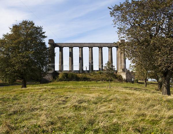 Partenón colina centro Edimburgo Escocia Foto stock © searagen