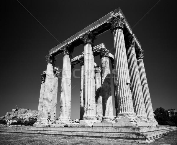 Templo Atenas Grécia Partenon Acrópole Foto stock © searagen