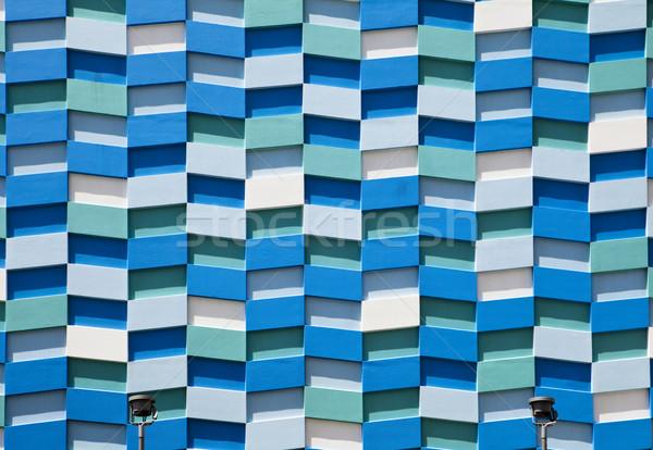 Abstract Wall Facade Stock photo © searagen