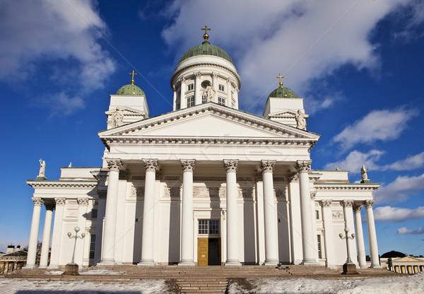 Helsinki Lutheran Cathedral Stock photo © searagen