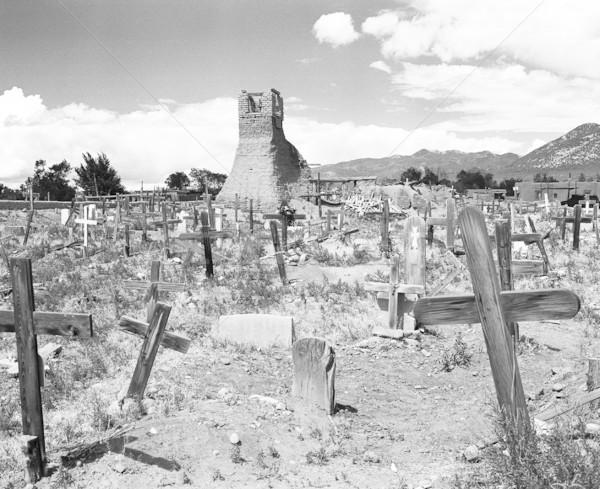 Graveyard of San Geronimo Stock photo © searagen