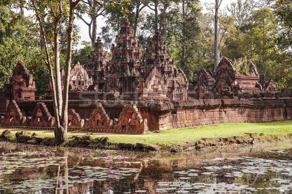 Banteay Srei Temple In The Jungle Stock photo © searagen