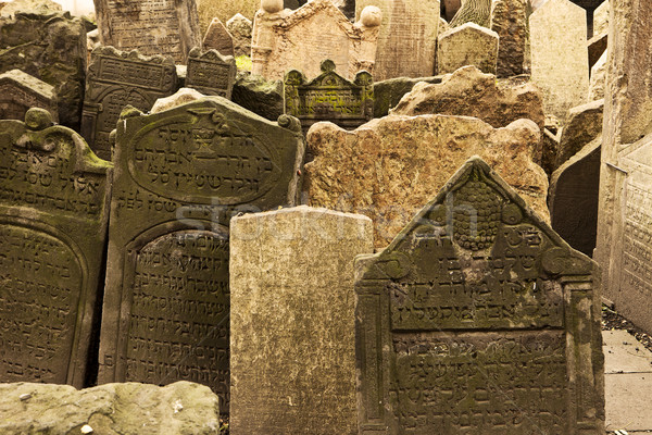 Jewish Cemetery Viewpoint Stock photo © searagen