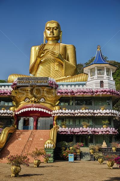 Bejárat arany templom fő- előcsarnok hazugságok Stock fotó © searagen