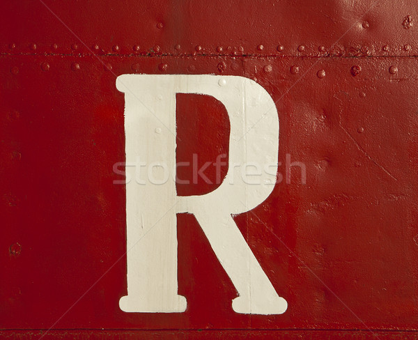 White R On Ship Stock photo © searagen
