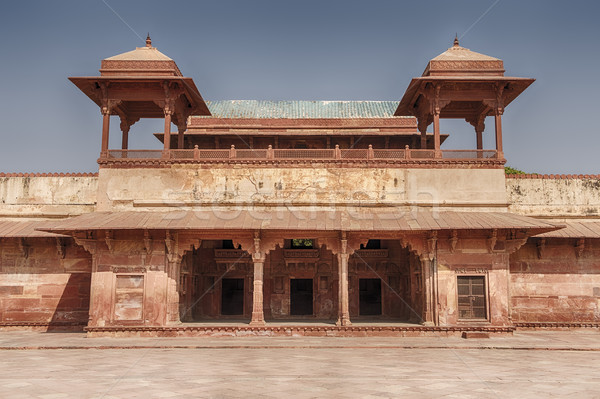 Queen's Palace Of Fatehpur Stock photo © searagen