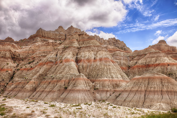 Color Mountains In The Badlands Stock photo © searagen
