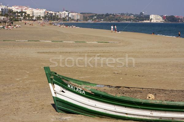 Beach At Estepona Stock photo © searagen