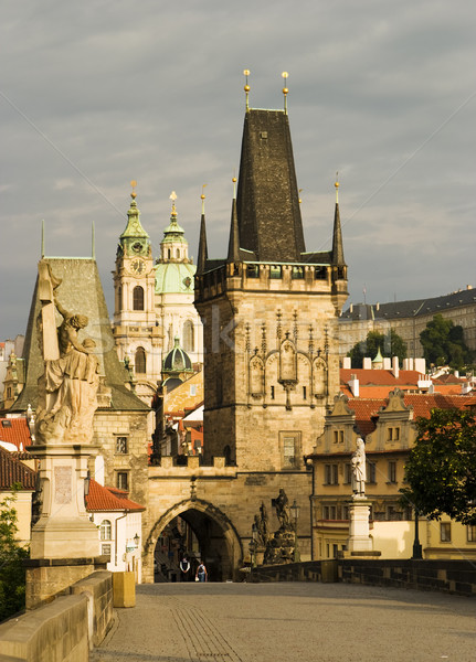 Charles Bridge, Prague Stock photo © searagen