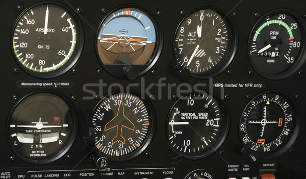 Cockpit Control Panel Stock photo © searagen