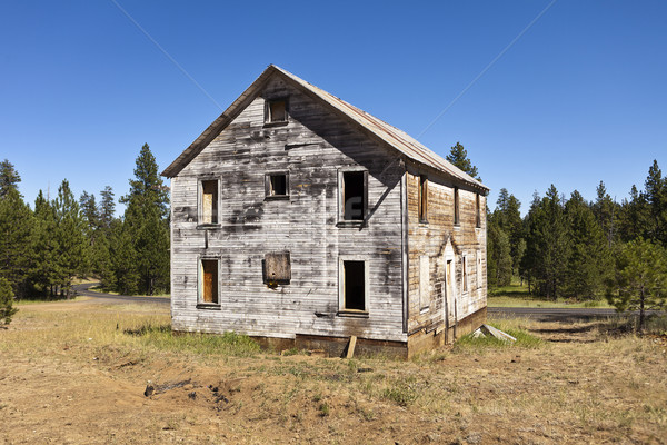 Old Mining Building Stock photo © searagen