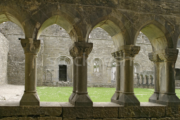 Ancient Abbey Cloisters Stock photo © searagen