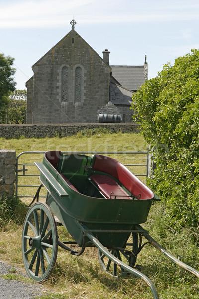 Cavalo igreja em pé tradicional Foto stock © searagen