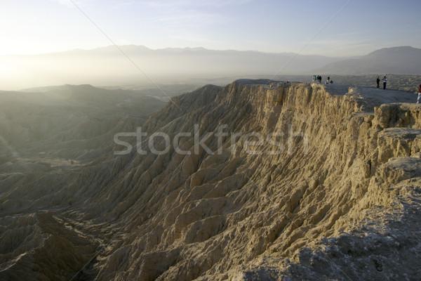 Borrego Badlands Canyon Stock photo © searagen