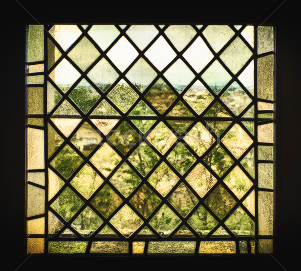 Medieval Stained Glass Window Stock photo © searagen