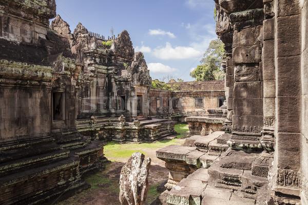 Courtyard At Banteay Samre Stock photo © searagen