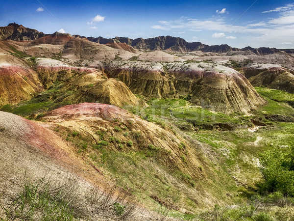 Badlands In The Summer Stock photo © searagen