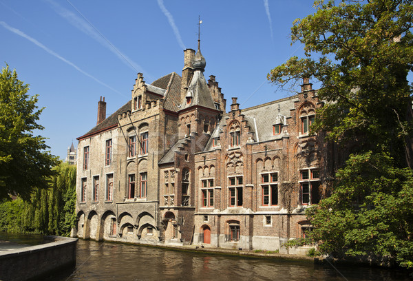 Building By Canal In Bruges Stock photo © searagen