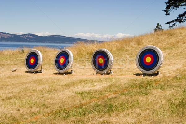 Island Archery Range Stock photo © searagen