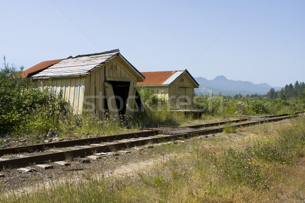 Old Railroad Station Stock photo © searagen