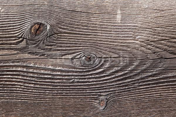 Viharvert fa tábla öreg három absztrakt Stock fotó © searagen