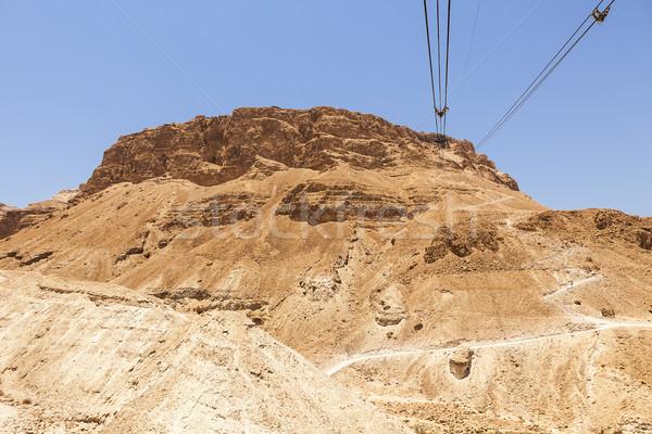 кабелей плато исторический ориентир гондола Top Сток-фото © searagen