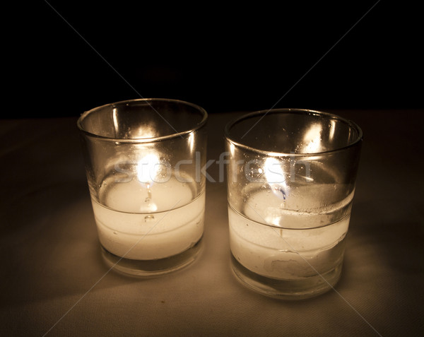 Two Lit Candles Stock photo © searagen