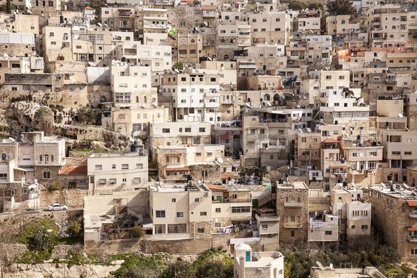 Иерусалим мнение переполненный Израиль зданий Сток-фото © searagen